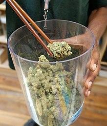 cannabis bud tender